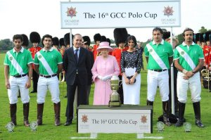 S.A.S. Principe Marcello I al GCC Polo Cup 2012 di Windsor